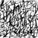 Abstrakcjonistyczny czarny i biały tło Obrazy Stock