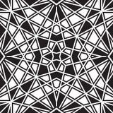 Czarny i biały wzór Zdjęcia Stock