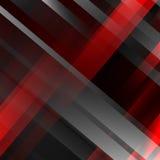 Abstrakcjonistyczny czarny i czerwony geometryczny tło Nowożytni pokrywa się paski również zwrócić corel ilustracji wektora royalty ilustracja