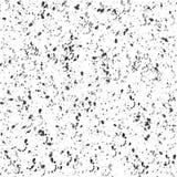Abstrakcjonistyczny Czarny i Popielaty Grunge Bryzga teksturę w Białym tle ilustracji