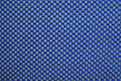 Abstrakcjonistyczny czarny squre kropek wzór na błękitnym tle Zdjęcie Royalty Free