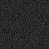 Abstrakcjonistyczny czarny tło Obraz Royalty Free