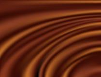 Abstrakcjonistyczny czekoladowy tło Zdjęcia Royalty Free