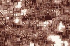 Abstrakcjonistyczny czekoladowy tło z prętowymi wzorami i migdałową czekoladą royalty ilustracja