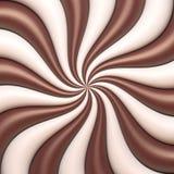 Abstrakcjonistyczny czekolady i śmietanki tło Obraz Stock