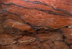 Abstrakcjonistyczny czerwień marmur jako tło Zdjęcie Stock