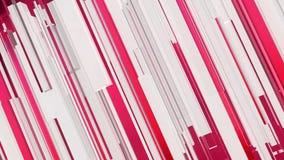 Abstrakcjonistyczny czerwieni i białych linii ruchu tło ilustracja wektor