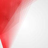 Abstrakcjonistyczny czerwieni i bielu tło Obrazy Royalty Free
