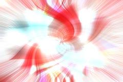Abstrakcjonistyczny czerwieni i bielu tło z twirl wybuchu skutkiem obraz royalty free