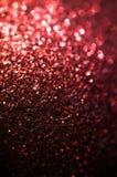 Abstrakcjonistyczny czerwony błyskotliwości tło Obrazy Royalty Free
