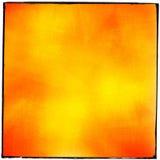 Abstrakcjonistyczny czerwony kolor żółty groszkujący ekranowy pasek Fotografia Stock