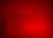 Abstrakcjonistyczny czerwony kropki swirll projekt Zdjęcie Stock