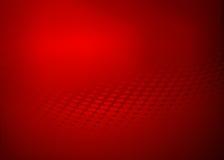 Abstrakcjonistyczny czerwony kropki swirll projekta tło Zdjęcie Stock