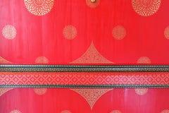 Abstrakcjonistyczny czerwony retro tło Obraz Royalty Free
