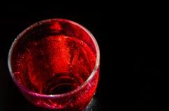 Abstrakcjonistyczny czerwony szkło Obrazy Stock