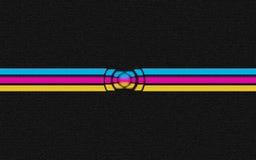 Abstrakcjonistyczny 3d cegieł tło zgłębia uninverse Obraz Royalty Free