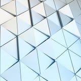 Abstrakcjonistyczny 3D ilustracyjny architektoniczny wzór Obraz Royalty Free