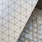 Abstrakcjonistyczny 3D ilustracyjny architektoniczny wzór Zdjęcia Royalty Free