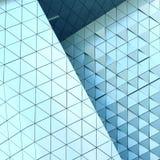 Abstrakcjonistyczny 3D ilustracyjny architektoniczny wzór Zdjęcie Royalty Free