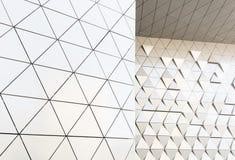 Abstrakcjonistyczny 3D ilustracyjny architektoniczny wzór Zdjęcia Stock