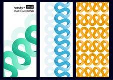 Abstrakcjonistyczny 3d origami papieru vetor tło Zdjęcia Stock