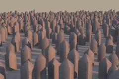 Abstrakcjonistyczny 3d tło Obraz Royalty Free