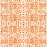 Abstrakcjonistyczny dekoracyjny batikowy bezszwowy wzór Obrazy Royalty Free
