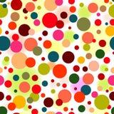 abstrakcjonistyczny deseniowy bezszwowy żywy Fotografia Stock