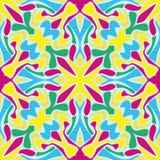 abstrakcjonistyczny deseniowy bezszwowy Zdjęcia Royalty Free