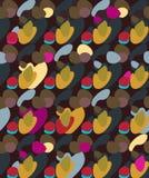 abstrakcjonistyczny deseniowy bezszwowy Zdjęcia Stock