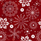 abstrakcjonistyczny deseniowy czerwony bezszwowy Zdjęcie Stock