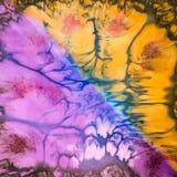 abstrakcjonistyczny deseniowy jedwab Fotografia Stock