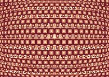 abstrakcjonistyczny deseniowy retro Obrazy Stock
