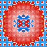 abstrakcjonistyczny deseniowy round Obrazy Royalty Free