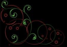 abstrakcjonistyczny deseniowy warzywo Zdjęcia Royalty Free