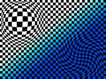 abstrakcjonistyczny deskowy szachy Zdjęcia Royalty Free