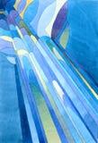 abstrakcjonistyczny deszcz Obrazy Royalty Free