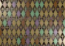 abstrakcjonistyczny diament Obraz Royalty Free