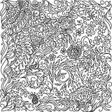 abstrakcjonistyczny doodle ilustracji