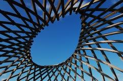 abstrakcjonistyczny drewniany Zdjęcie Stock