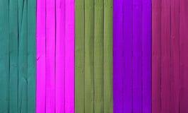 Abstrakcjonistyczny drewno ściany kolor Zdjęcia Royalty Free