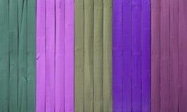Abstrakcjonistyczny drewno ściany kolor Obraz Stock