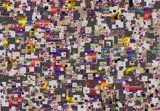 Abstrakcjonistyczny druk, tło Fotografia Stock