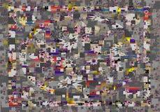 Abstrakcjonistyczny druk, tło Zdjęcia Stock
