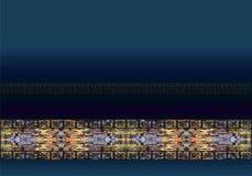 Abstrakcjonistyczny druk, tło, fractal Zdjęcie Stock