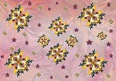 Abstrakcjonistyczny druk, tło, fractal Obrazy Stock