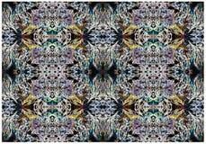Abstrakcjonistyczny druk, tło, fractal Obrazy Royalty Free