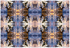 Abstrakcjonistyczny druk, tło, fractal 221 Obrazy Royalty Free