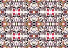Abstrakcjonistyczny druk, tło, fractal 222 Zdjęcia Stock