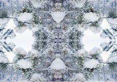 Abstrakcjonistyczny druk, tło, fractal 230 Obraz Royalty Free